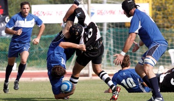 Israel rugby players.