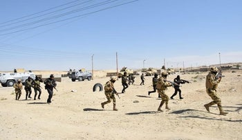 FILE PHOTO: Egyptian soldiers and police special forces are seen during a launch of a major assault against militants in the Sinai peninsula.