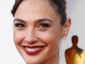 Gadot at the 90th Academy Awards