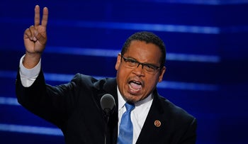 Deputy Chair of the Democratic National Committee Keith Ellison