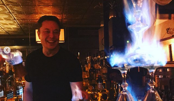 Is Tesla coming to Israel? Elon Musk spotted in Jerusalem bar 'burning absinthe'