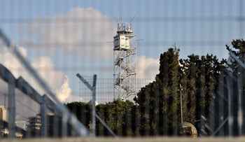 FILE PHOTO: Israeli army radar station