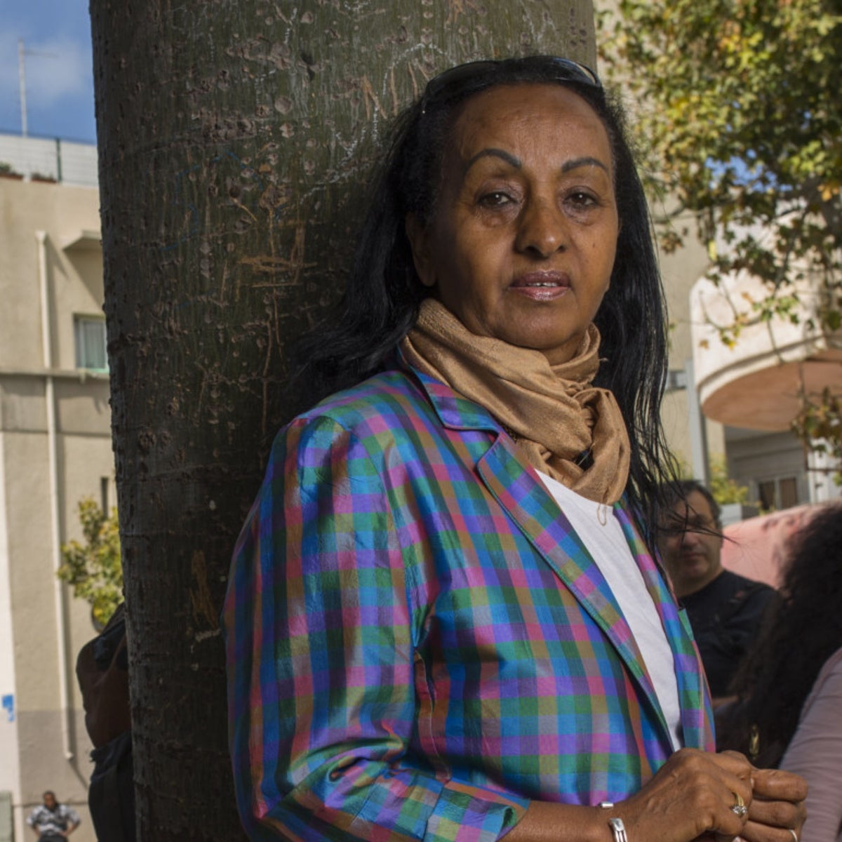 Alganesh Fessaha in Tel Aviv. 'Many of the Eritreans who are now in Israel and are candidates for deportation are survivors of this horror in the Sinai.'