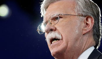 FILE PHOTO: Former U.S. Ambassador to the United Nations John Bolton speaks at the Conservative Political Action Conference in Oxon Hill, Maryland in 2017.