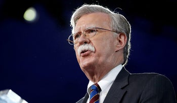John Bolton speaks at the Conservative Political Action Conference in Oxon Hill, Maryland, U.S. February 24, 2017