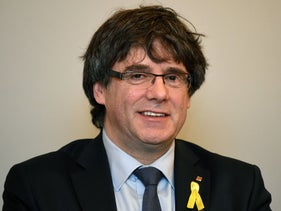 Catalonia's ousted regional president Carles Puigdemont in Brussels in March, 2018.
