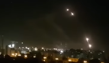 Iron Dome false launches over Hamas drill