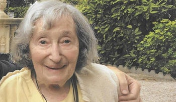 Mireille Knoll, an 85-year-old Holocaust survivor found murdered in her Paris apartment on March 23, 2018.