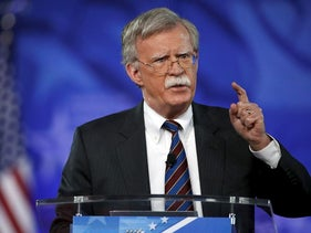In this Friday, Feb. 24, 2017 file photo, Former U.S. Ambassador to the UN John Bolton speaks at the Conservative Political Action Conference (CPAC) in Oxon Hill