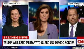 Juliette Kayyem, fmr DHS assistant secretary on Trump saying he would send the military to the border