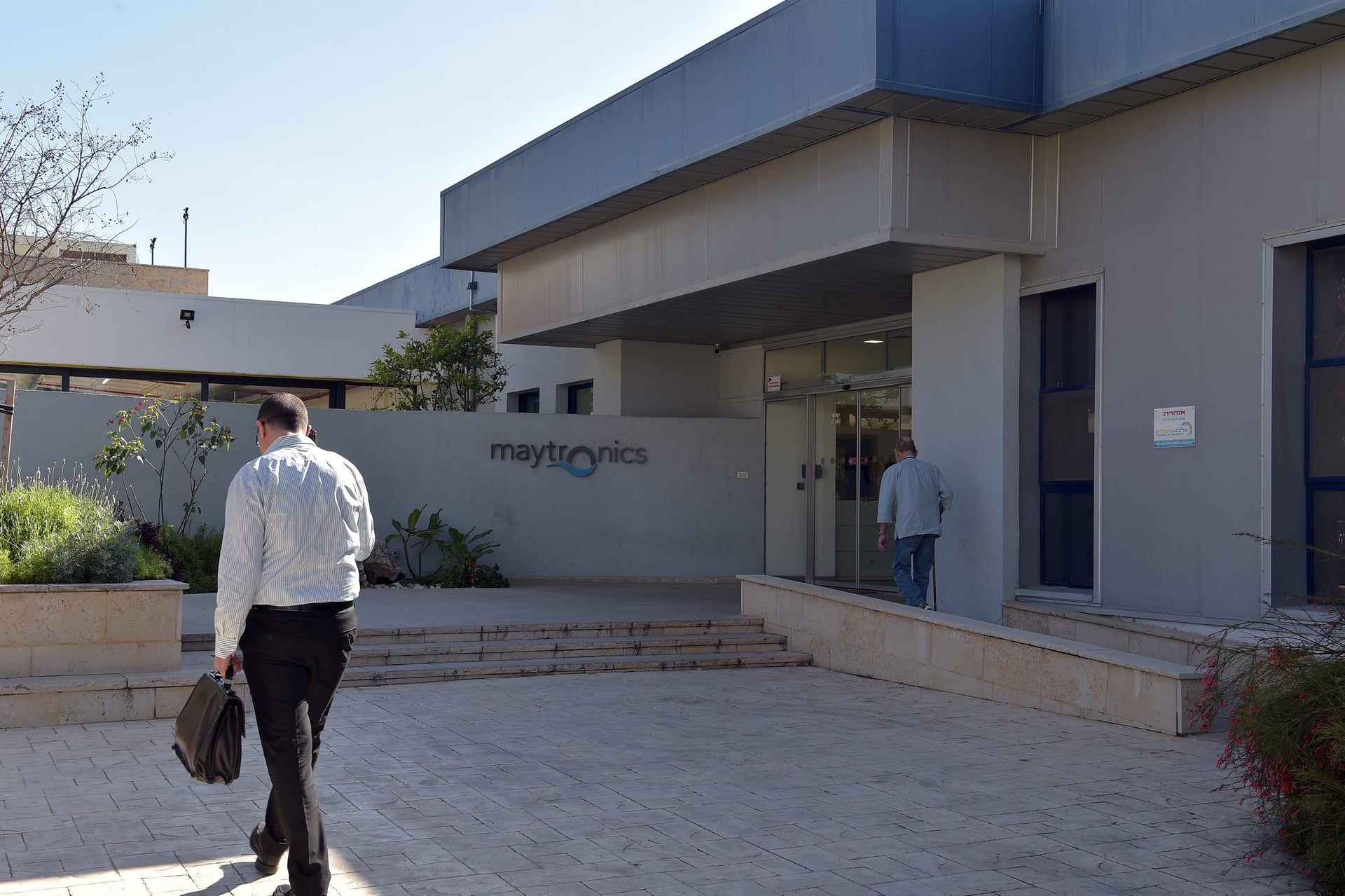 The Maytronics factory in Yizre'el. The company is now the world's single largest supplier of robotic pool cleaners.