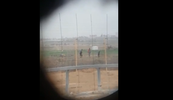 From the video of the motionless Palestinian shot by Israeli sniper to sound of soldiers' cheers.
