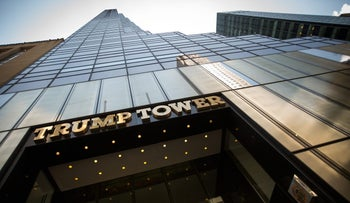 FILE PHOTO: Trump Tower stands in New York, U.S., June 1, 2017.