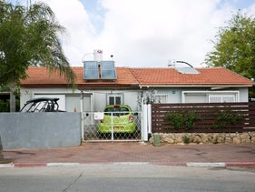 A single-family house owned by Amidar in Ra'anana.