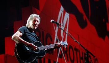 "FILE PHOTO: Roger Waters performs during his ""The Wall Tour 2010/2011"" in Milan, Italy."