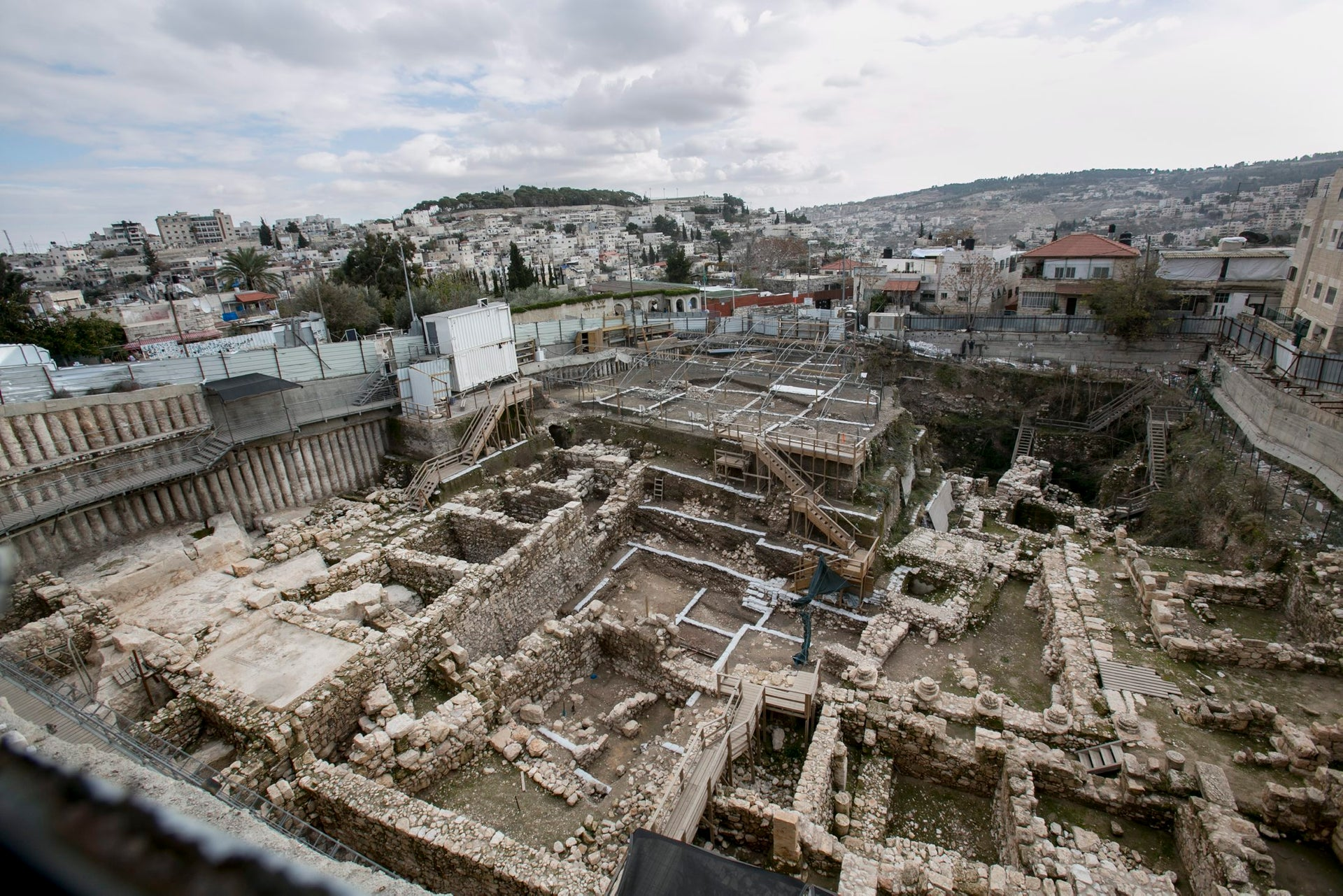 Ancient Jerusalem: City of David dig