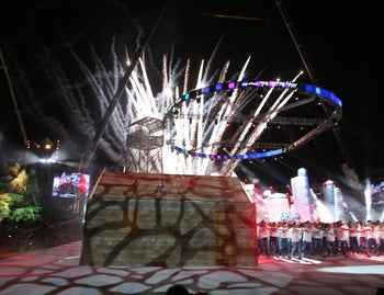 Israel marks its 70th Independence Day with fireworks and celebration. April 18, 2018