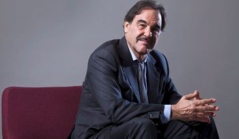 Film director Oliver Stone sits for a portrait in New York, U.S., on Thursday, Sep. 16, 2010