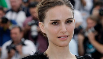 Natalie Portman poses for photographers during a photo call at the 68th international film festival, Cannes, southern France, Nov. 7, 2017.