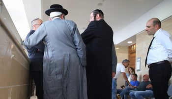 The family of those involved in the drowning of an infant at a court in Ashkelon.