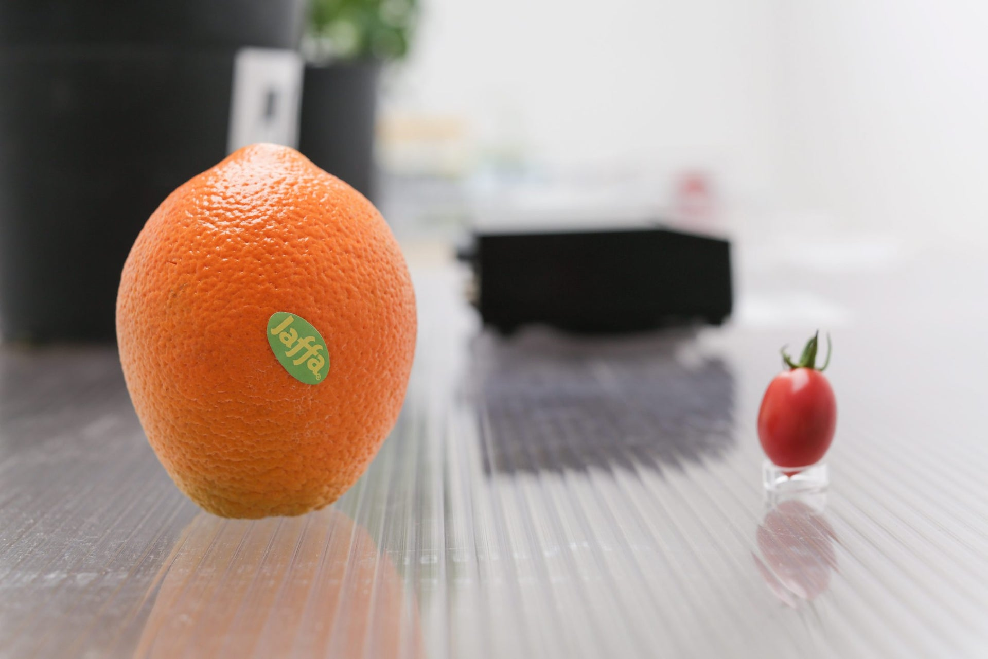 The Jaffa orange and the cherry tomato. Israeli inventions? Or just something designed in Israel?