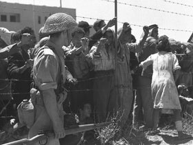 Captives in Ramle during the 1948 war
