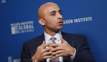 Yousef Al Otaiba, United Arab Emirates' ambassador to the U.S. at a conference in California, May 2, 2017.