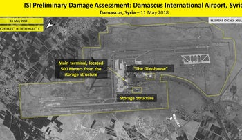 An overview of the Iranian targets struck provided as part of a damage assessment following the Israeli strike.
