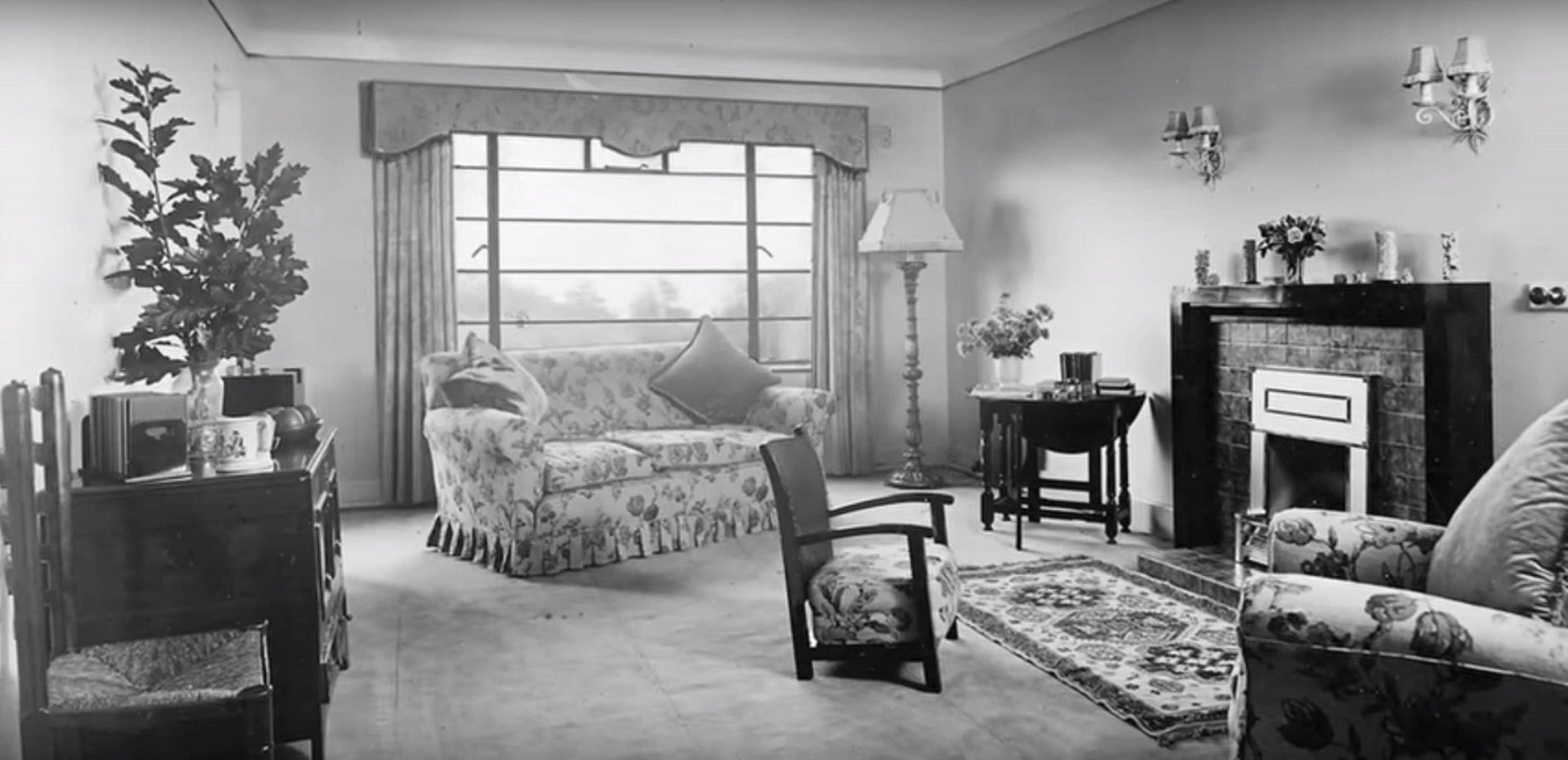 "A room at the historical Jewish Green Park Hotel in Bournemouth, England, from the film ""The Green Park."""
