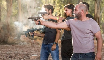 Scene from the second season of 'Fauda'