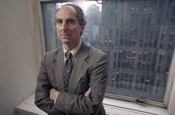 In this March 1993 file photo, novelist Philip Roth poses for a photo in New York.