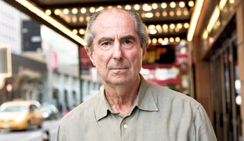 Author Philip Roth poses in this undated photo released to the press on November 2, 2009.