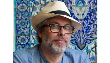 Author Michael Chabon in Jerusalem, 2017.