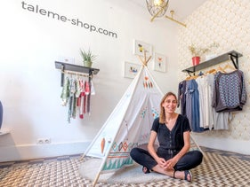 Tale Me is a four-year-old Brussels-based startup that rents reasonably priced clothing to future mothers and young children, providing an alternative to buying expensive clothing.