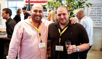 NSO Group founders Omri Lavie and Shalev Hulio