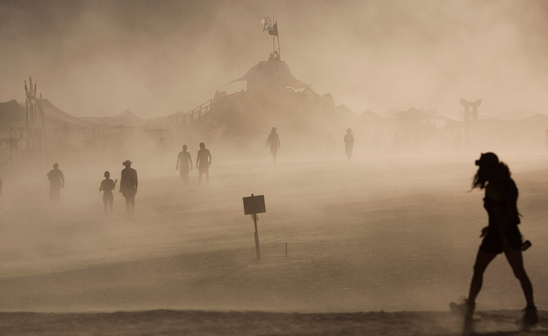 The Midburn festival in the Negev, the Israeli answer to the 'Burning Man' festival