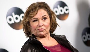 actress Roseanne Barr on January 8, 2018.