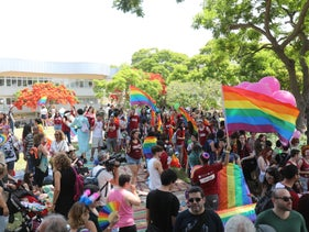 Gay Pride Parade in Kfar Sava