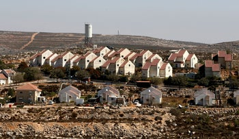 Houses in Shvut Rachel, a West Bank settlement located close to Shilo, near Ramallah October 6, 2016