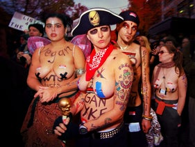 From the documentary 'Queercore: How to Punk a Revolution.'