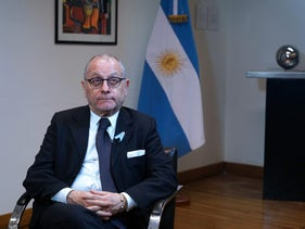 Argentine Foreign Minister Jorge Faurie, May 22, 2018.