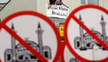 FILE PHOTO: Muslims in Europe are meeting resistance to plans for mosques that befit Islam's status as the continent's second religion