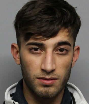 Handout picture released on June 7, 2018 by the Police of Wiesbaden shows Iraqi asylum seeker Ali Bashar, 20, suspected for the rape and murder of 14-year-old Susanna Maria Feldman, after sexually assaulting her