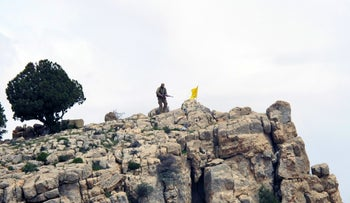 Hezbollah fighter in Syria in 2015.