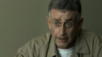 "Michael Peterson talking to camera in Netflix's ""The Staircase."""