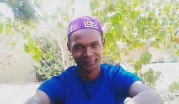 Kibita Yosef, a member of the Ugandan Abayudaya community, whose request to immigrate to Israel under the Law of Return was denied at the end of May.