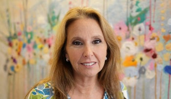 Shari Arison, Israel's richest woman, poses for a photo, July 15, 2009.