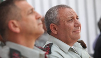Chief of Staff Gadi Eisenkot, June 4, 2018.