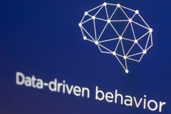 FILE- In this April 18, 2018, file photo, a graphic from the Cambridge Analytica website is displayed on a computer screen in New York. On Wednesday, June 6, Cambridge Analytica's ex-CEO Alexander Nix, clashed with British lawmakers as he denied his firm was unethical. (AP Photo/Mark Lennihan, File)