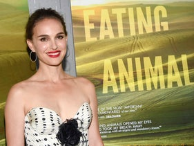 """Natalie Portman attends a New York screening of the documentary she produced, """"Eating Animals,"""" June 14, 2018."""